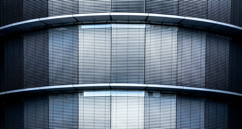 stainless steel building